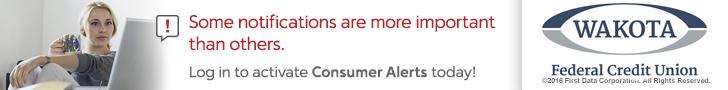 Debit Card Consumer Alerts