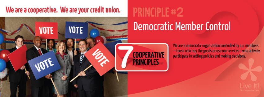 Co-op Principle #2-Democratic member Control