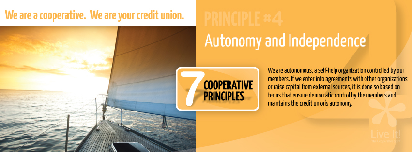 Co-op Principle #4- Autonomy and Independence
