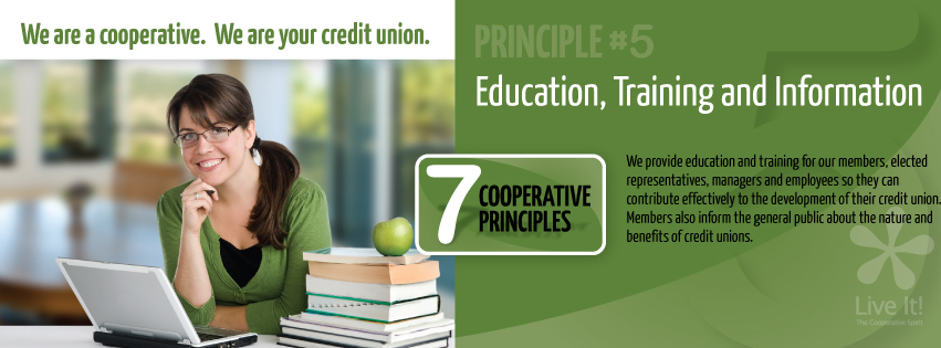 Co-op Principle #5- Education, Training and Information