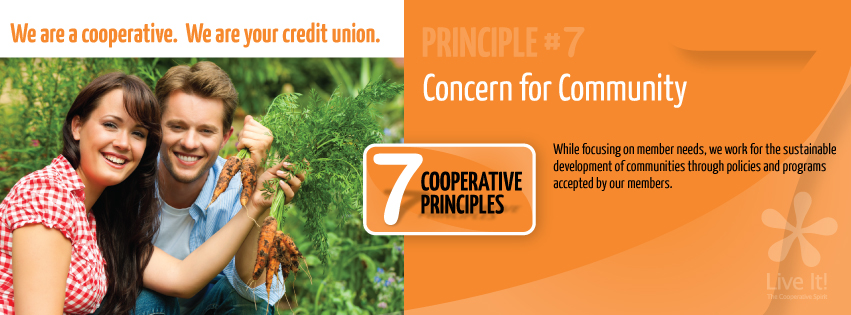 Co-op Principle #7- Concern for Community